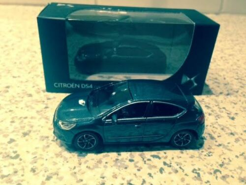Norev citroën 1/64 , DS4, donkergrijs, Mint in box, 3 inch