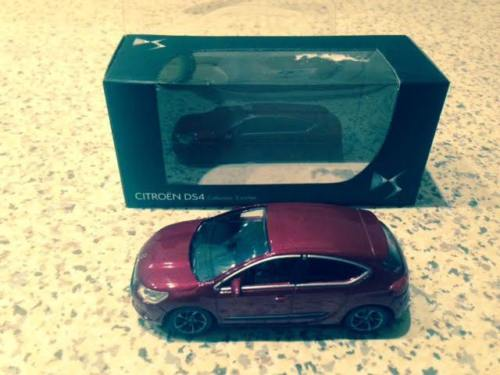 Norev citroën 1/64 , DS4 2012, Mint in box, 3 inch
