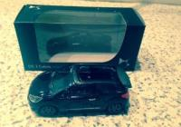 Norev citroën 1/64 , Ds3 Cabrio, zwart, Mint in box, 3 inch