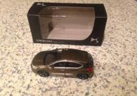 Norev citroën 1/64 , DS5 bruin-grijs, Mint in box, 3 inch