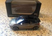 Norev citroën 1/64 , DS3 Cabrio, Bruin-grijs, Mint in box,